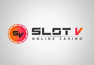 Slot V casino logo
